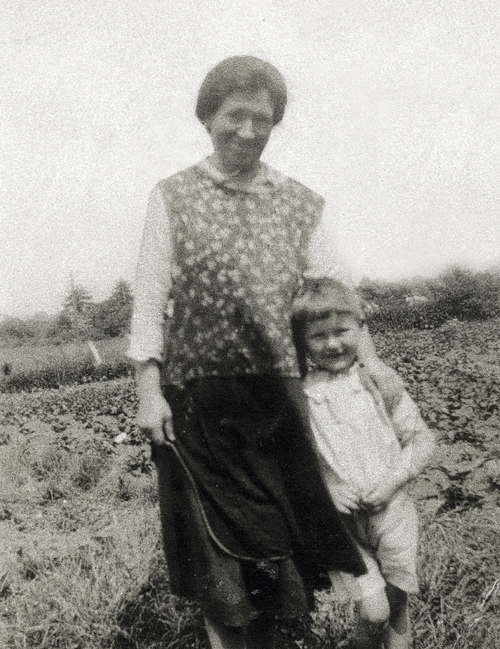 Briget McDonnell (nee.Gaynor) with her son Jack